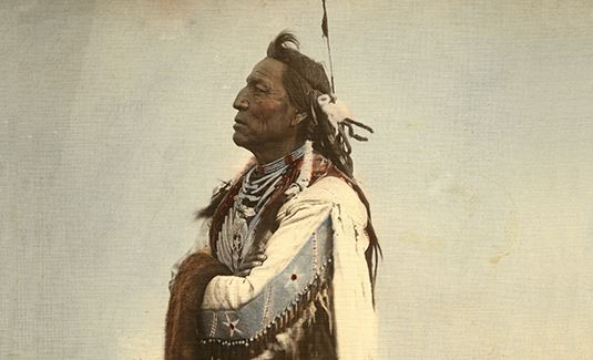 antique photo of native american